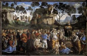 モーセの遺言と死